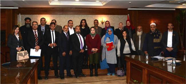 جانب من المشاركين بالمبادرة