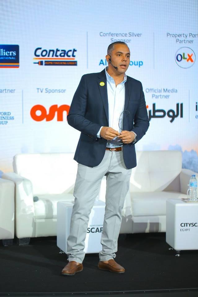 خالد شاهين، المدير الاقليمى للإيرادات أولكس مصر