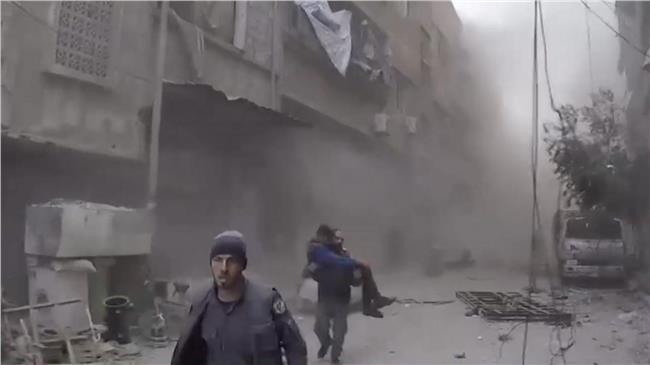 خروج نحو مائة مدني من «الغوطة الشرقية»