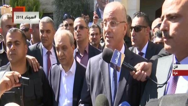 جولة لرئيس وزراء فلسطين بقطاع غزة