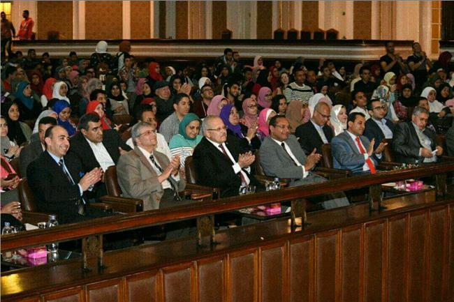 قاعة الاحتفالات بالجامعة القاهرة