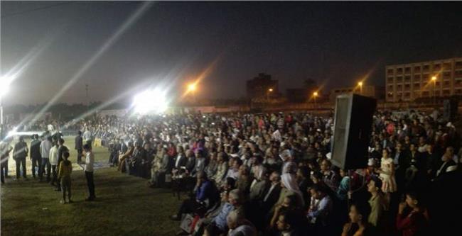 مؤتمر جماهيري لائتلاف دعم مصر في بني سويف