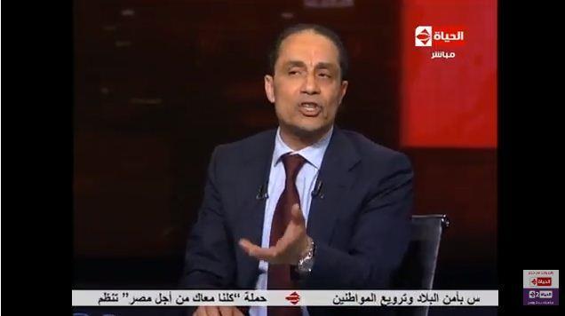 استاذ الاعلام بجامعة القاهرة الدكتور سامي عبد العزيز