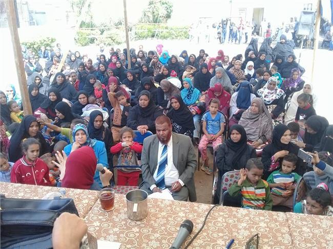 القومى للمرأة يعقد 44 لقاء فى 17 محافظة لتوعية السيدات بالانتخابات الرئاسية