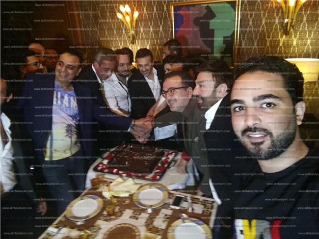 صابر الرباعي يحتفل بعيد ميلاده