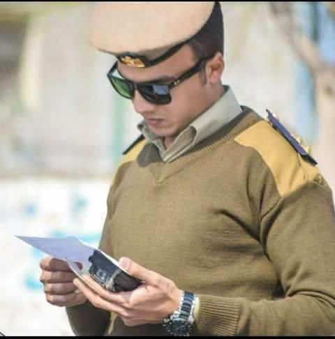 الضابط الشهيد نقيب مصطفى سمير بدوى