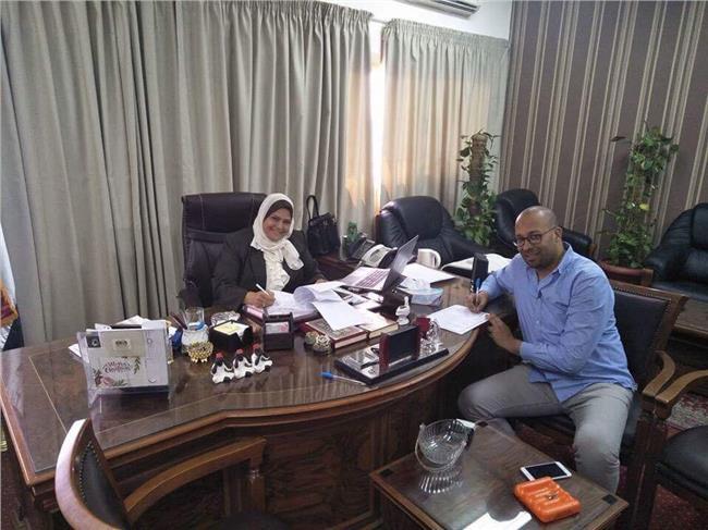 المدينة الرياضية ببورسعيد توقع عقدا لاستغلال ملعب كرة القدم