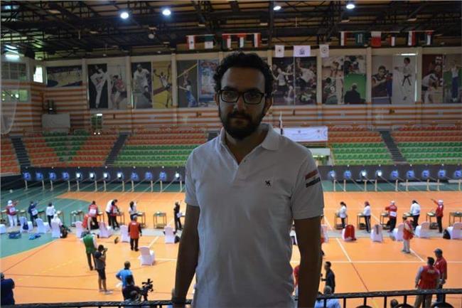 محمد حمدي يتوج بذهبية البندقية في البطولة العربية للرماية بشرم الشيخ
