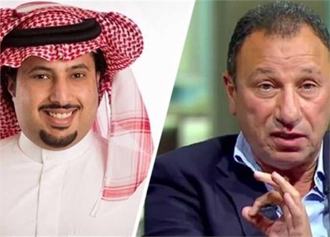 محمود الخطيب ، تركي آل شيخ