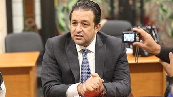 النائب علاء عابد رئيس الهيئة البرلمانية لحزب المصريين الاحرار
