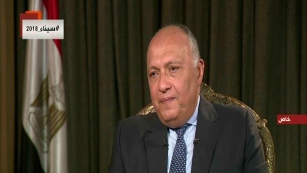 وزير الخارجية، السفير سامح شكري