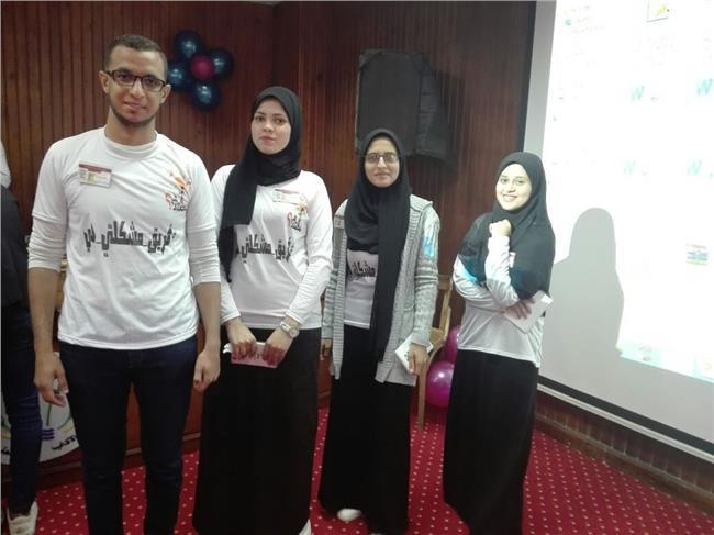 """جامعة المنيا تشارك فى مؤتمر المبادرات الطلابية بـــ """"المنصورة"""""""