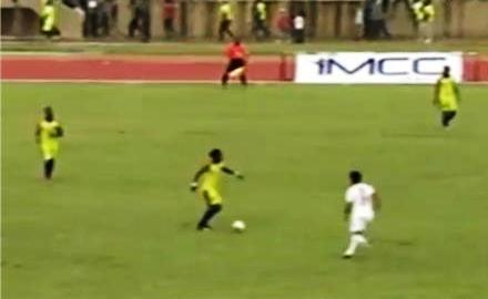 صورة من مباراة الذهاب