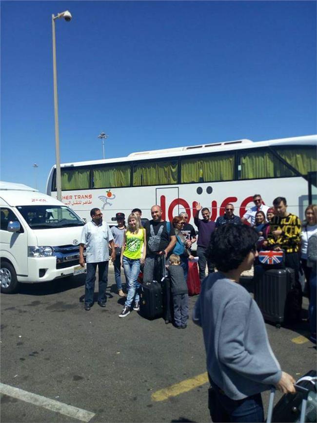 الغردقة تستقبل أول رحلة طيران مباشر من كازاخستان