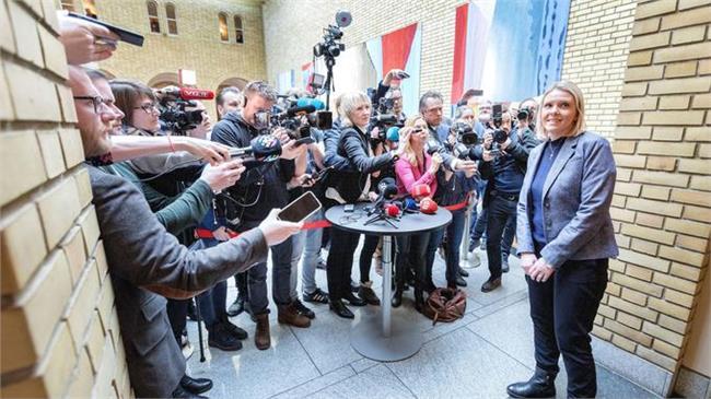 وزيرة العدل النرويجية سيلفي ليستوج