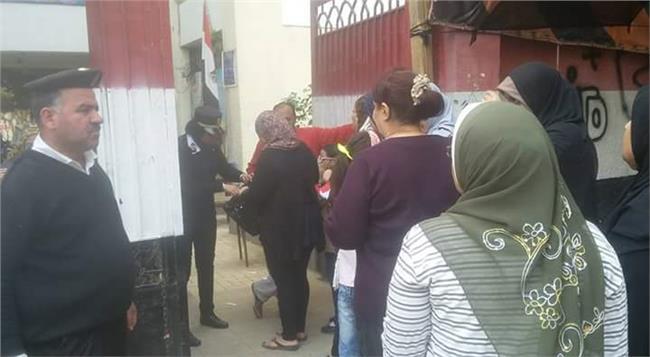 تزايد اعداد الناخبين بلجان شبرا وروض الفرج