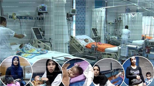 أطفال أبو الريش في انتظار تحقيق حلم الشفاء