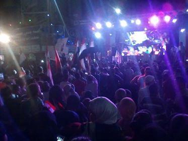 احتفالات أهالي المنيا