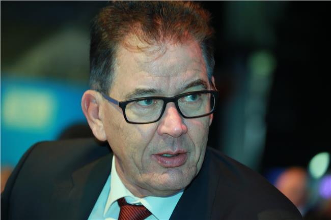 وزير التنمية الألماني جيرد مولر
