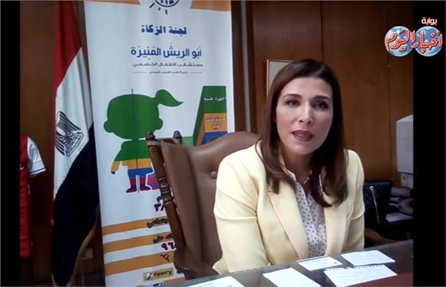 د.رشا عمار مدير مستشفى أبو الريش للأطفال