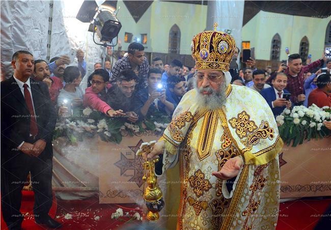 البابا تواضروس - تصوير اسامة منازع