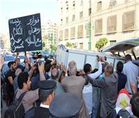 تشييع جثمان الإعلامية آمال فهمي - تصوير: كريم جاد