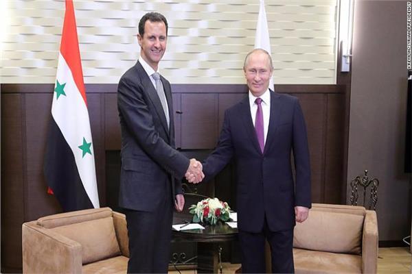 بشار الأسد وبوتين