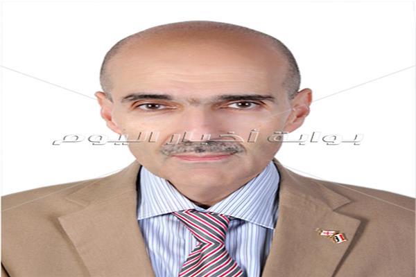 الكسندر نالباندوف سفير جورجيا بالقاهرة