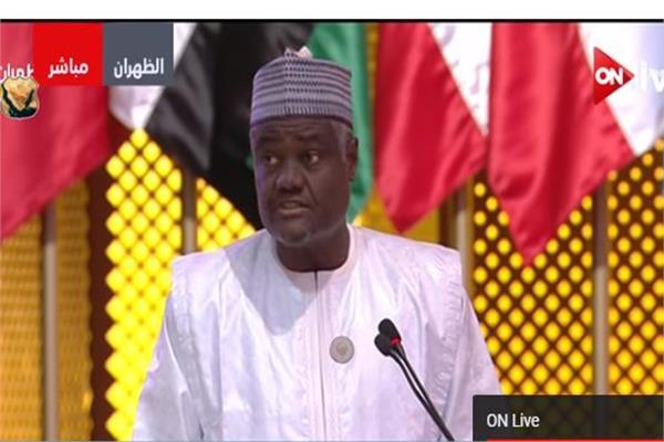 موسى فكى محمد، رئيس مفوضية الاتحاد الأفريقى