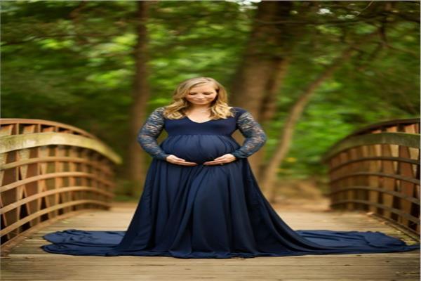فساتين سهرة للمرأة الحامل