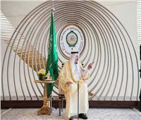 الملك سلمان بن عبد العزيز خلال أعمال القمة العربية