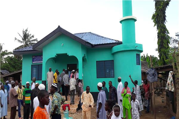 صورة لأحد مساجد غانا