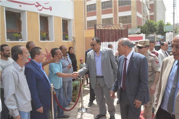 معرض لتسويق منتجات المدارس بالمنيا