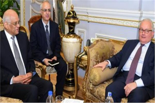 رئيس مجلس النواب والسفير الإيطالي