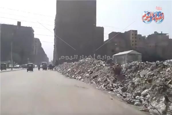 شارع الهرم السياحي إلى عشوائيات