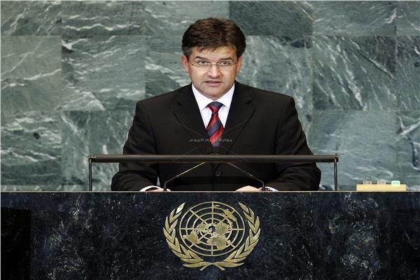 ميروسلاف لايتشاك هو رئيس الجمعية العامة للأمم المتحدة