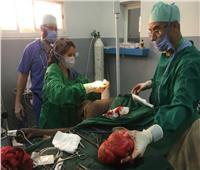 خلال إجراء عملية جراحية