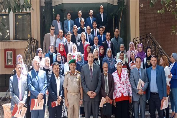 صورة تذكارية للمشاركين في الدورة