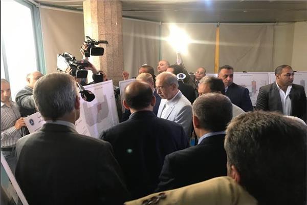 رئيس الوزراء يصل محافظة الاسماعيلية