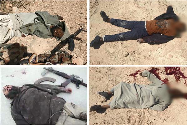 جثث الإرهابيين