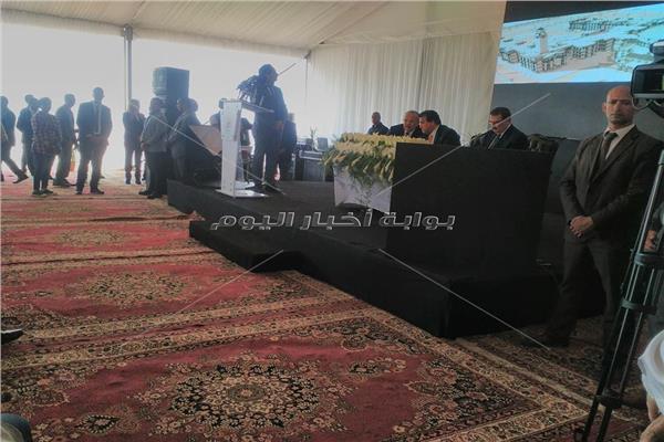 وضع حجر أساس جامعة القاهرة بـ6 أكتوبر