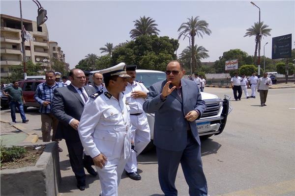 اللواء عصام سعد مساعد وزير الداخلية، ومدير أمن الجيزة