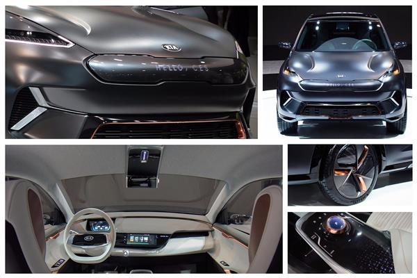 صورة للسيارة الكهربائية Niro EV