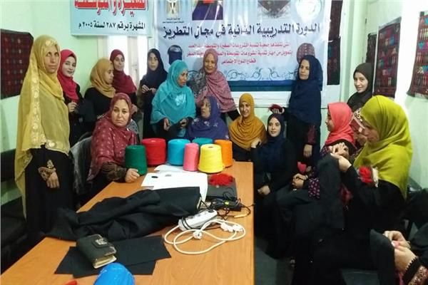 مبادرة لرفع مهارات سيدات سيناء
