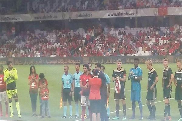 صورة من مباراة اعتزال حسام غالي