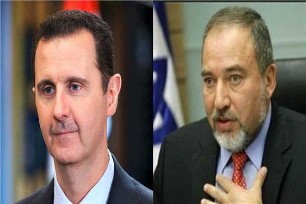 أفيجدرو ليبرمان وبشار الأسد