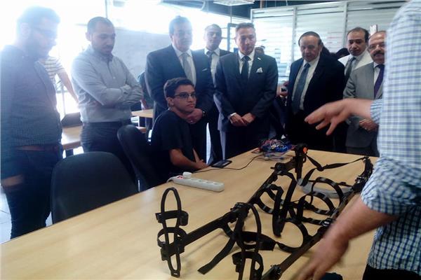 افتتاح منظومة دعم الصناعة المحلية وريادة الأعمال بجامعة النيل