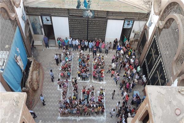 ايبارشية سوهاج تحتفل بمئوية مدارس الأحد