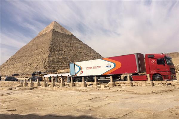 نقل 180 قطعة أثرية جديدة للمتحف المصري الكبير