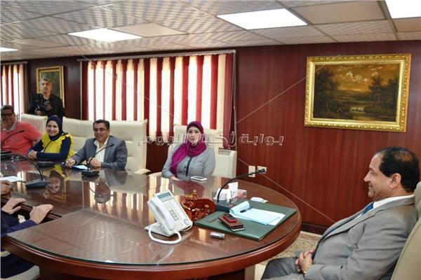 محافظ الغربية اللواء أحمد ضيف صقر